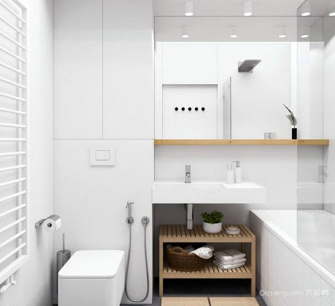 现代简约风格小户型卫生间装修效果图