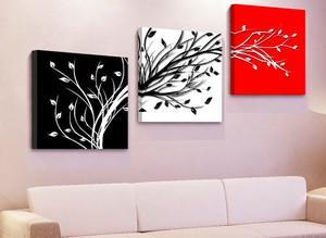 一居室时尚创意客厅装饰画装修效果图