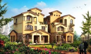 现代风格农村三层别墅设计装修效果图赏析