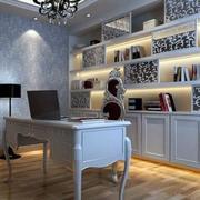 简欧风格大户型精致室内书房装修效果图