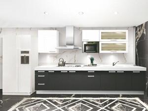 2016精致的大户型厨房室内设计装修效果图欣赏