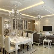 2016别墅型欧式餐厅设计装修效果图欣赏