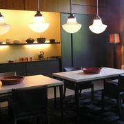 2016经典的大户型餐厅室内装修效果图欣赏