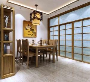 小户型精美中式风格餐厅装修效果图实例