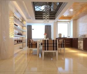 2016别墅型欧式餐厅室内吊顶装修效果图欣赏