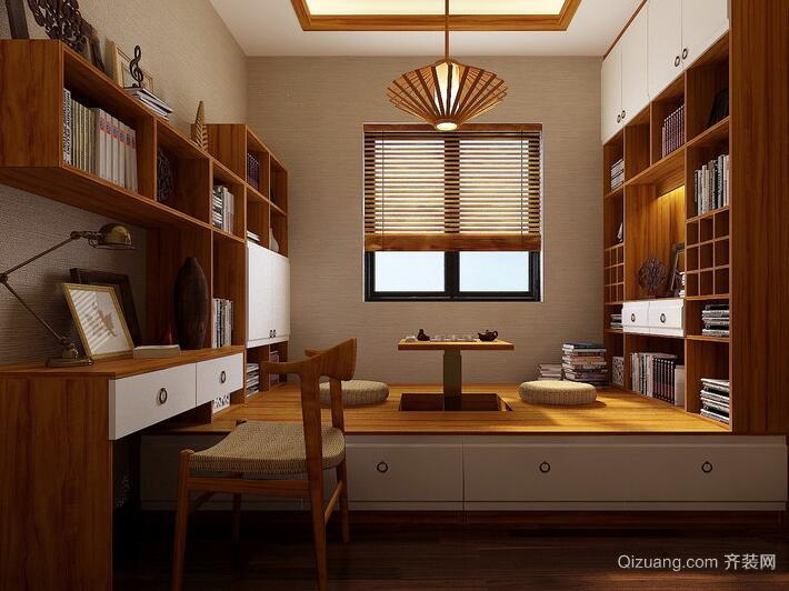 2016大户型现代室内榻榻米设计装修效果图鉴赏