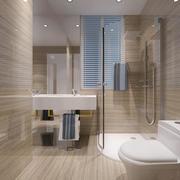 2016大户型欧式卫生间设计装修效果图欣赏