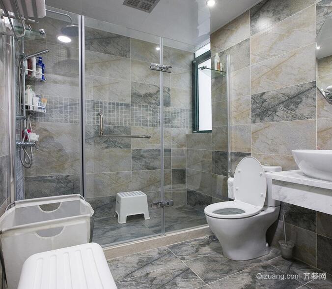 2016大户型欧式风格卫生间装修效果图欣赏