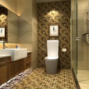 2016欧式精美的小卫生间装修效果图欣赏