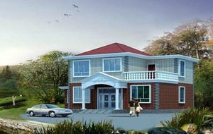 农村两层小洋楼设计