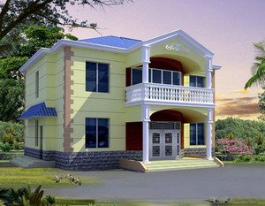 农村两层小洋楼装修效果图赏析