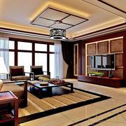 东南亚风格客厅电视背景墙
