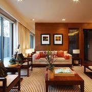 东南亚风格客厅整体设计