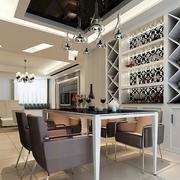 90平米大户型欧式室内酒柜设计装修效果图