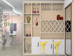 别墅现代简约风格家装酒柜室内装修效果图