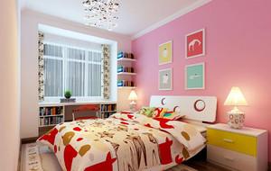 现代简约两室两厅儿童房装修效果图赏析
