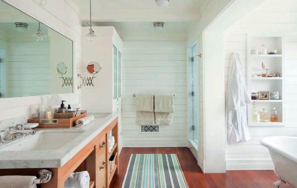 简约风格现代家居大户型卫生间装修效果图