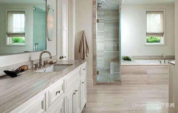 大户型现代欧式风格精致室内卫生间装修效果图