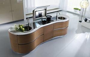 后现代风格别墅型精致厨房装修效果图赏析