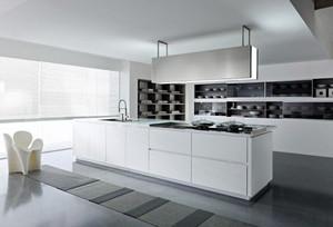 90平米现代风格时尚室内厨房装修效果图
