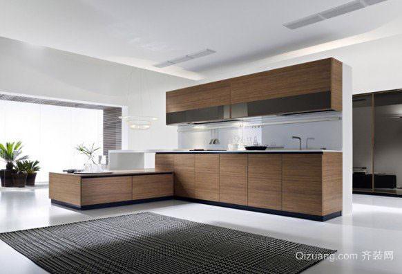 后现代风格大户型精致室内厨房装修效果图