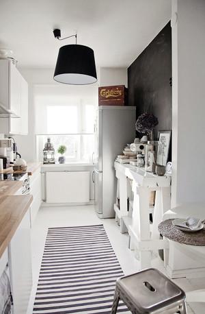 70平米北欧风格自然舒适室内厨房装修效果图