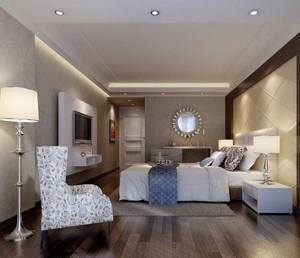 经典的别墅型小卧室吊顶设计装修效果图