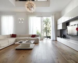 大户型欧式客厅背景墙装修效果图欣赏