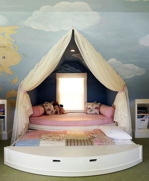 两居室简约风格时尚创意儿童房装修效果图
