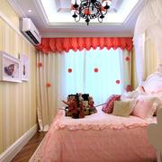 可爱女生儿童房设计
