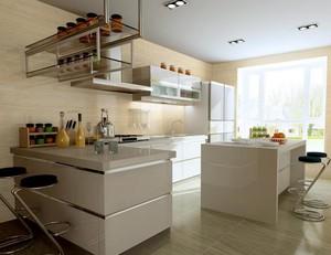 大户型欧式风格厨房橱柜设计装修效果图