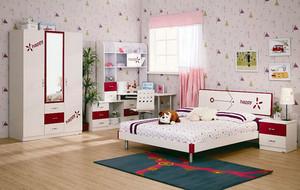 90平米简约时尚创意儿童房装修效果图