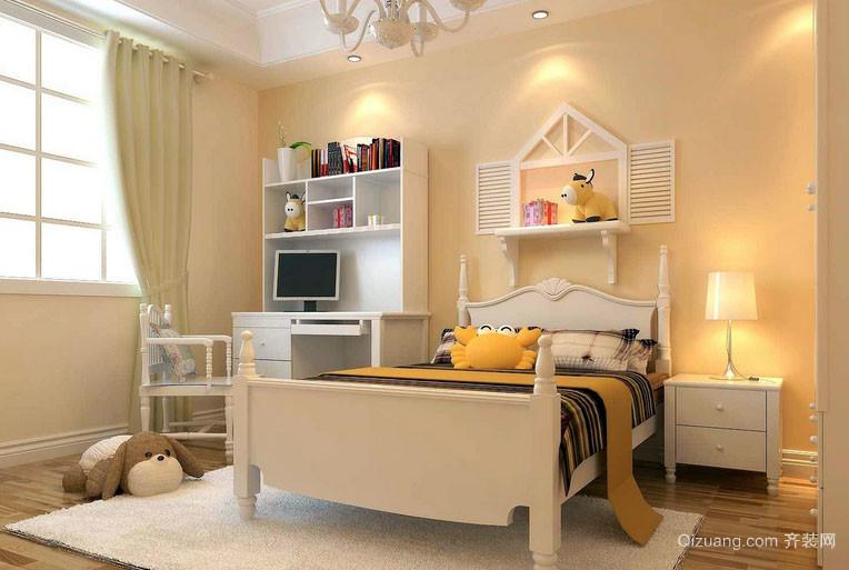 现代简约风格两居室室内儿童房装修效果图