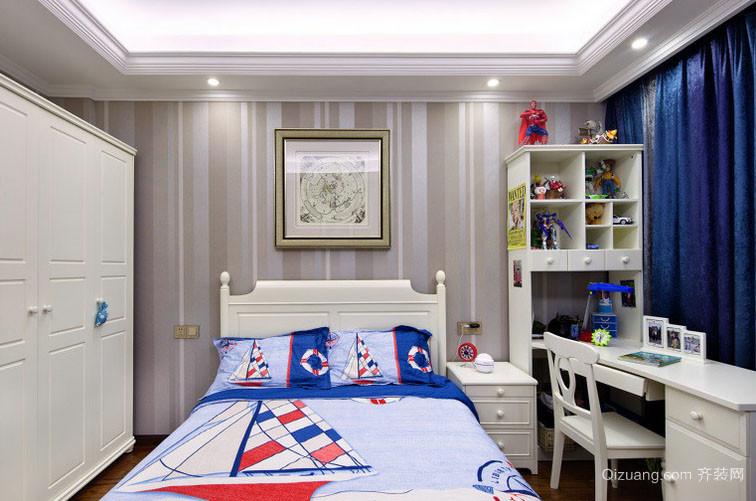 大户型欧式风格时尚创意儿童房装修效果图