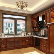 2016欧式大户型厨房室内设计装修效果图