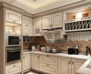 2016别墅欧式厨房吊顶设计装修效果图欣赏