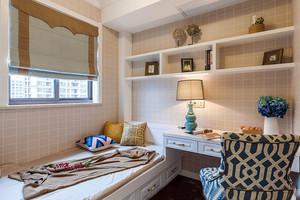 美式田园风格大户型公寓装修效果图