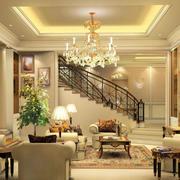 别墅型欧式风格客厅