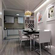 大户型现代简约风格餐厅设计装修效果图