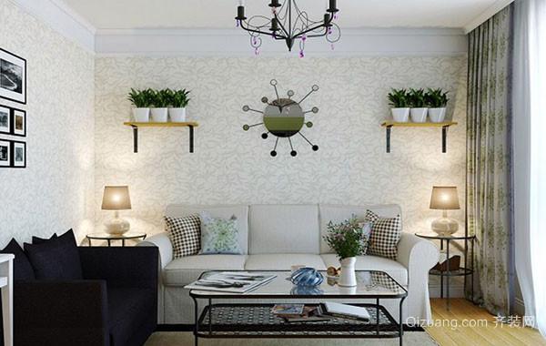 2016年新款简约风格小户型客厅装修效果图大全