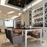 2016小户型现代室内酒柜设计装修效果图