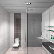 小户型现代卫生间室内设计装修效果图