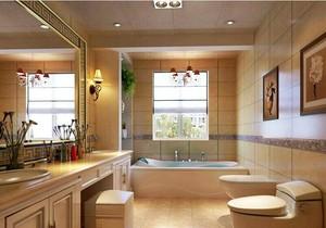 经典现代欧式小卫生间装修效果图欣赏