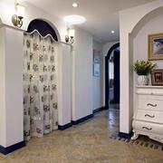 90平米地中海风格简约风格进门玄关装修效果图