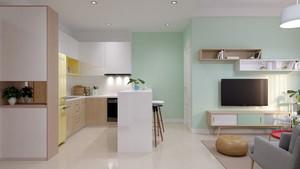 小户型精致清新时尚小公寓装修效果图赏析