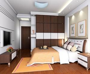 2016欧式小户型卧室吊顶室内设计装修效果图