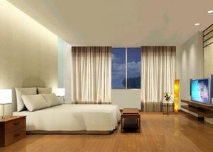 2016现代欧式精美的别墅卧室设计装修效果图