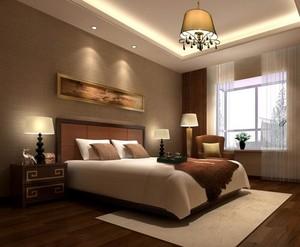 精致独特的现代欧式卧室背景墙设计装修效果图