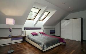 简约风格阁楼卧室装修