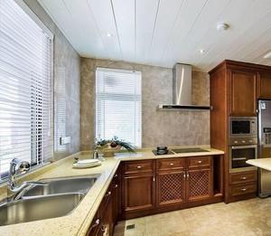 小户型现代厨房室内设计装修效果图实例